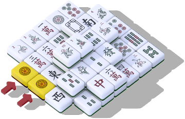 Mahjong tutorial step 1
